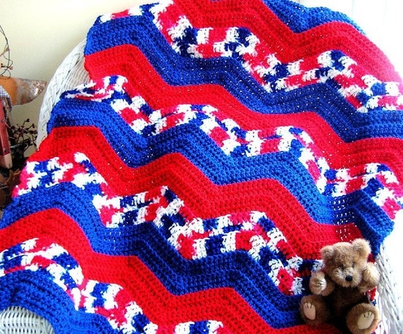 Patriots Crochet Afghan Pattern : Unavailable Listing on Etsy