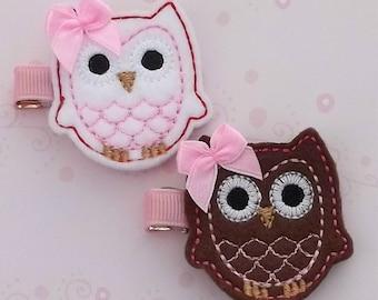 Cute Owl Clippies