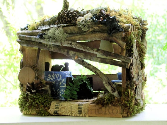 Fairy House Woodland Garden Cottage Fairy Furniture