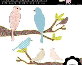 Just Bird Cliparts - Commercial Use OK