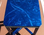 ON SALE until Oct. 7th - Blue Side Table