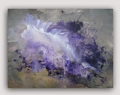 RESERVED FOR ASHLEY - EASY 24x18 acrylic modern abstract original painting by Carey Pavlik