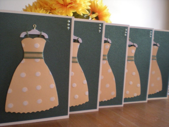 Bridemaids Cards (Set of 5 Cards)