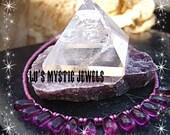Beaded Anklet Ankle Purple Bracelet Crown Chakra Energy Chakra Jewelry