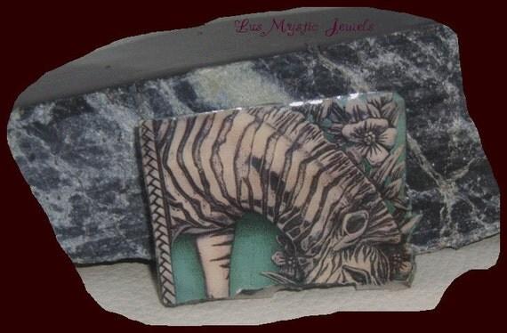 Christmas in July Zebra Pin Xmas in July CIJ