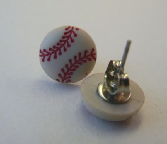 Baseball Earrings