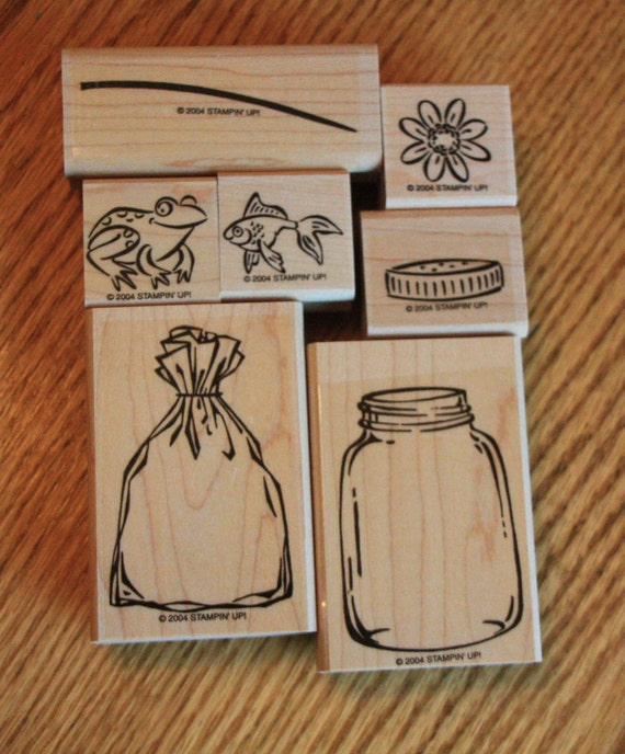 All Wrapped Up Stamp Set - Stampin Up - UNUSED