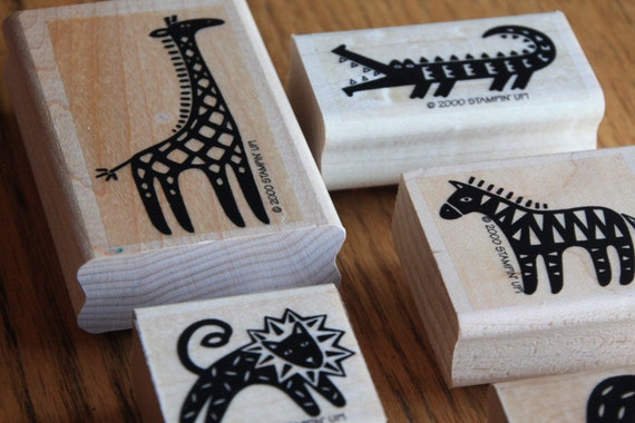 Wild Things Stamp Set by SU