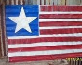 Folk Artist Alan Moore-Lil Flag 2