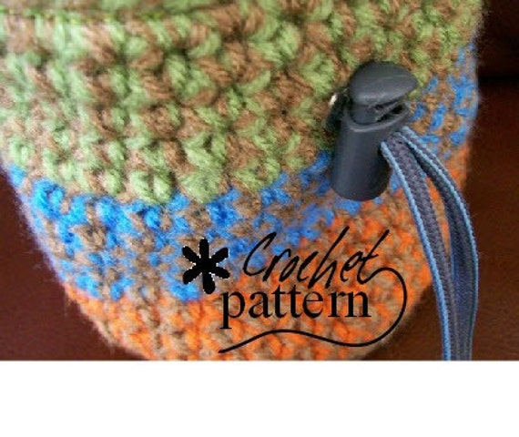 INSTANT DOWNLOAD - Crochet Rock Climbing Chalk Bag Pattern