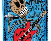 El Howlin' Wolf Print (Day of the Dead Rock Stars) Print