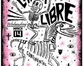 Chicha Libre Screenprinted Poster