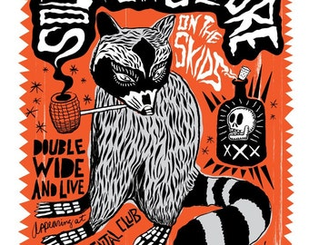 Southern Culture on the Skids Screenprinted Poster - Last Few Left
