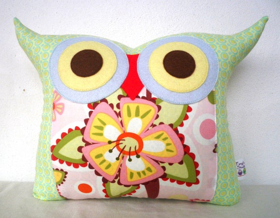 Last one SALE/flower bed little hoot/Ready to ship