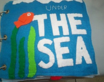 Under the Sea... Ocean Animal Counting Quiet Book