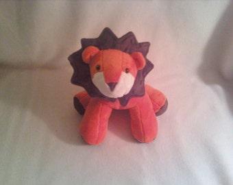 Super Soft Minky Lion Soft Toy