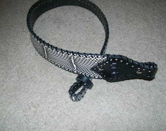Monogrammed Banded Spitting Cobra Rifle Sling