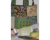 Into The Forest Crafter's Patchwork Tote