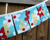 WELCOME BABY - Reusable Fabric Banner