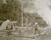 Photo Illustration Camping 1937