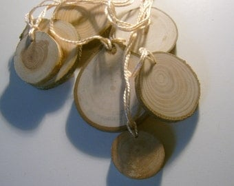Wooden Price Tag Hang Tag Assortment 100 piece