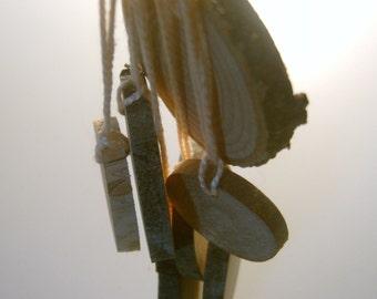 195 Wooden Price Tag Hang Tag Ornament Assortment Bulk Lot 1- 2 inch