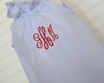 The Jane...Girls Beach Monogrammed Dress