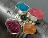 Specimen Crystal Stacker Ring- Choose Your Crystal