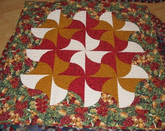 Quilters Fan Christmas Quilt