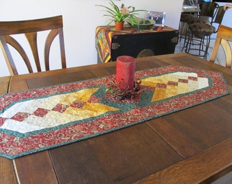 Braid Table Runner Christmas Quilt