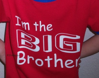 Big Brother Boys Shirt Custom Design