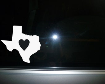 State Car decal, water bottle decal, laptop decal, car decal Texas State vinyl sticker NEW