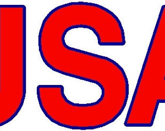 car decal ANY state vinyl sticker