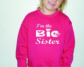big sister sweatshirt by Oodlesdecals