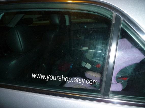 Your Etsy website Custom car decal small vinyl sticker