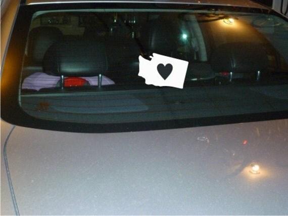 Washington State vinyl car decal sticker NEW