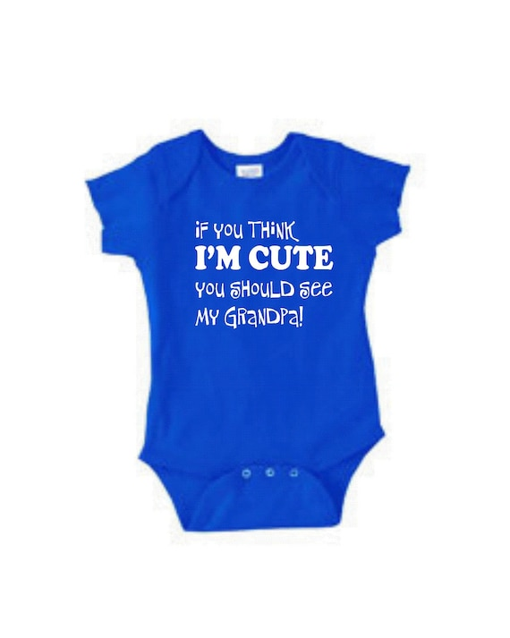 Funny Baby Gifts Shirt Sayings Think Cute