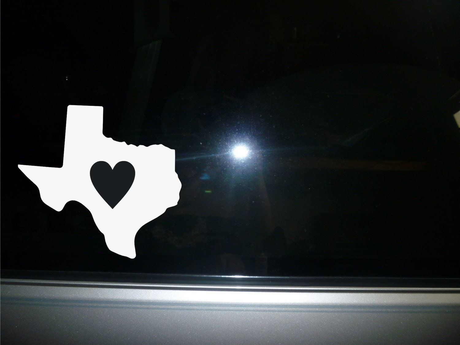 car decal texas state vinyl sticker new. Black Bedroom Furniture Sets. Home Design Ideas