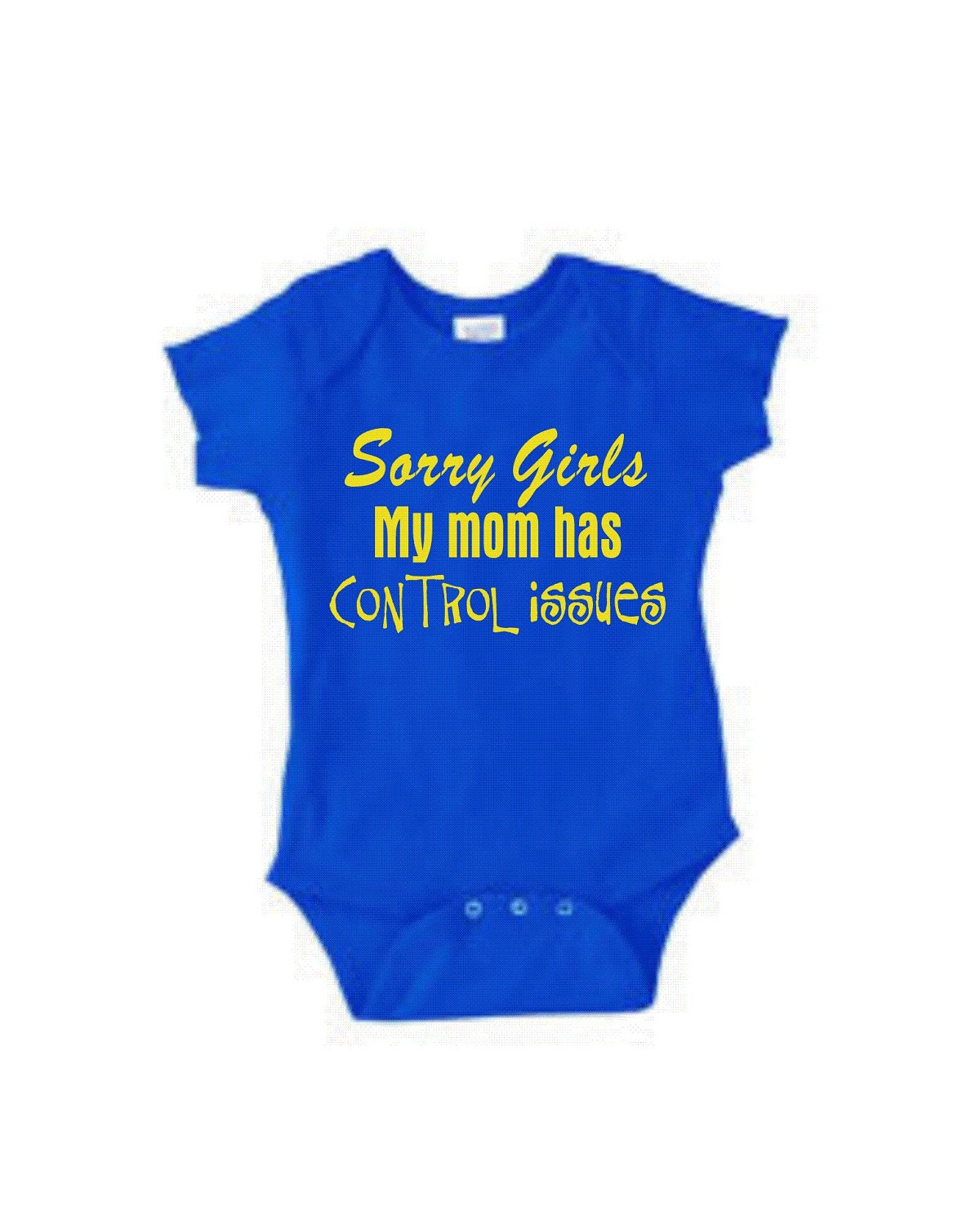 Sorry Girls funny baby boy shirt