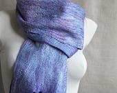 """wool felted scarf  """"Lavender fields"""" long felt women scarves wrap stole"""