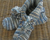 The All Day Cottage Footie Medium/Large ---Country Basket Blues