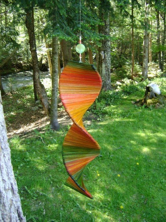 Wooden Wind Sculpture  -  for your garden and home