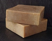 Plum Kernel (Marzipan), Avocado Butter and Macadamia Butter. Goat Milk and Honey Handmade SOAP