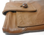 Recycled Leather iPad Case Sleeve