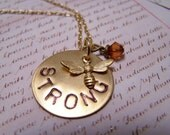 Bee Strong Necklace