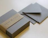 Pewter (mini) 2 3/4 x 2 3/4 Square Envelope 25/Pk