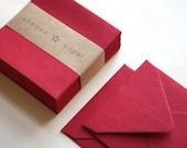 Firecracker Red (mini) 2 3/4 x 2 3/4 Square Envelope 25/Pk