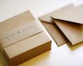 Natural Kraft (mini) 2 3/4 x 2 3/4 Square Envelope 25/Pk
