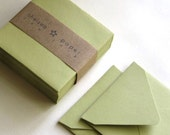 Tropical Green (mini) 2 3/4 x 2 3/4 Square Envelope 25/Pk
