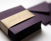 Eggplant (mini) 2 3/4 x 2 3/4 Square Envelope 25/Pk